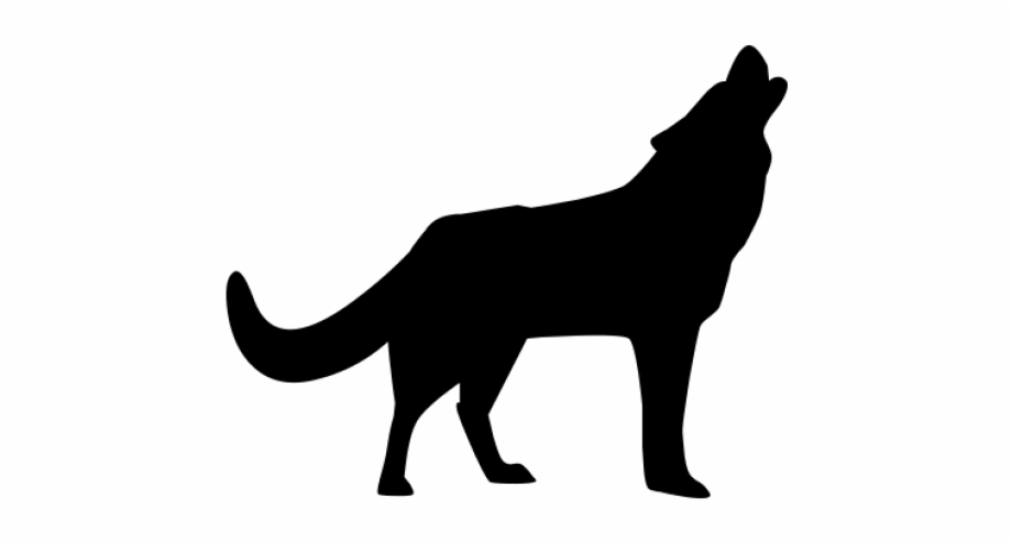 Wolves clipart transparent background. Howling wolf png