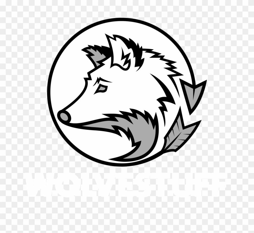 Medium size of easy. Wolves clipart wolf head