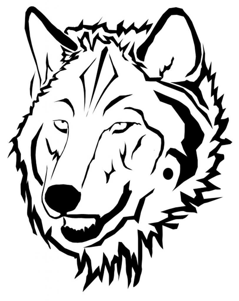 Wolves clipart wolf head. Free art download clip