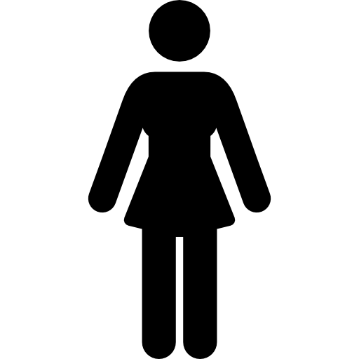 Female svg . Woman icon png