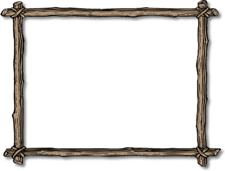 Wood border png.  stick freeuse download