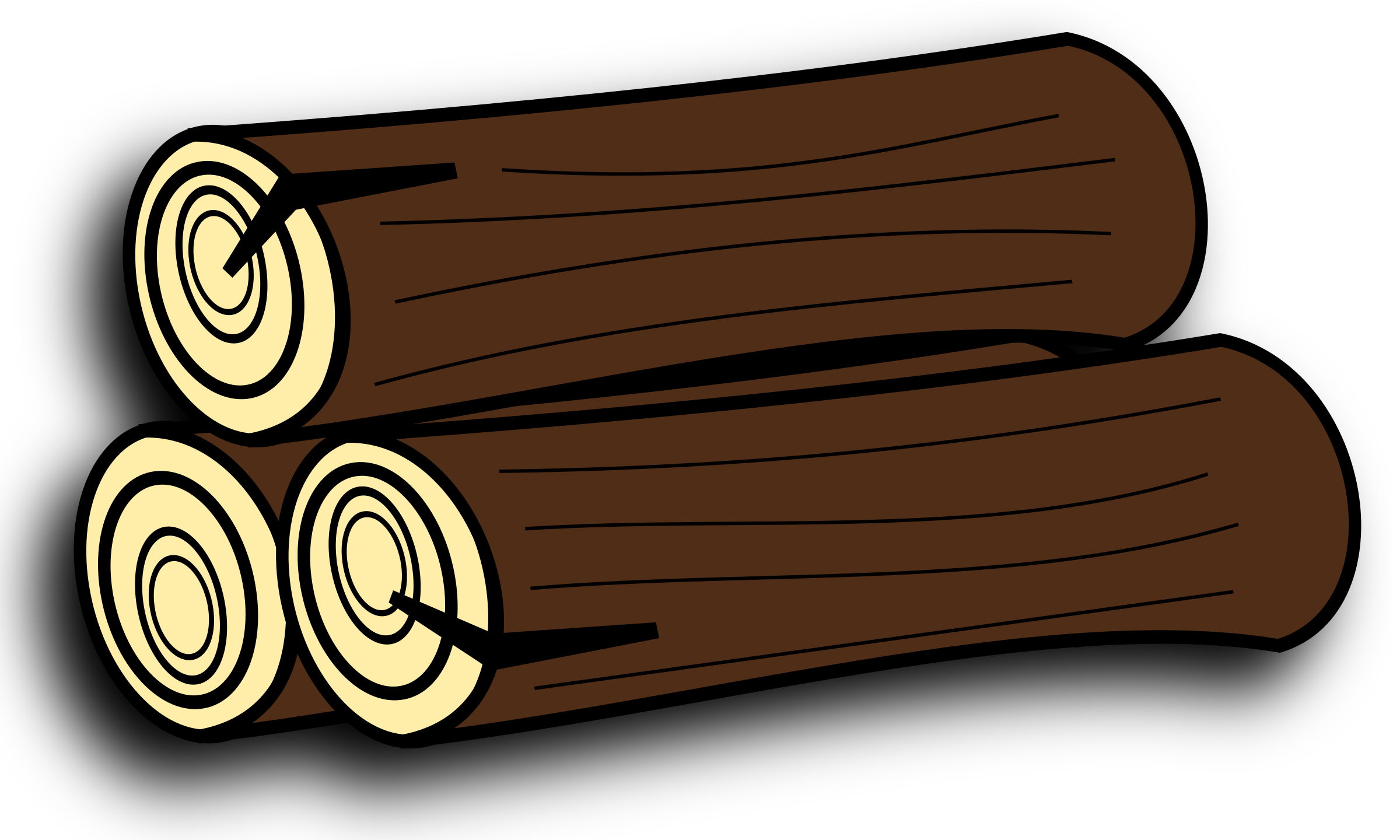 Log clipart lumber. Wood panda free images