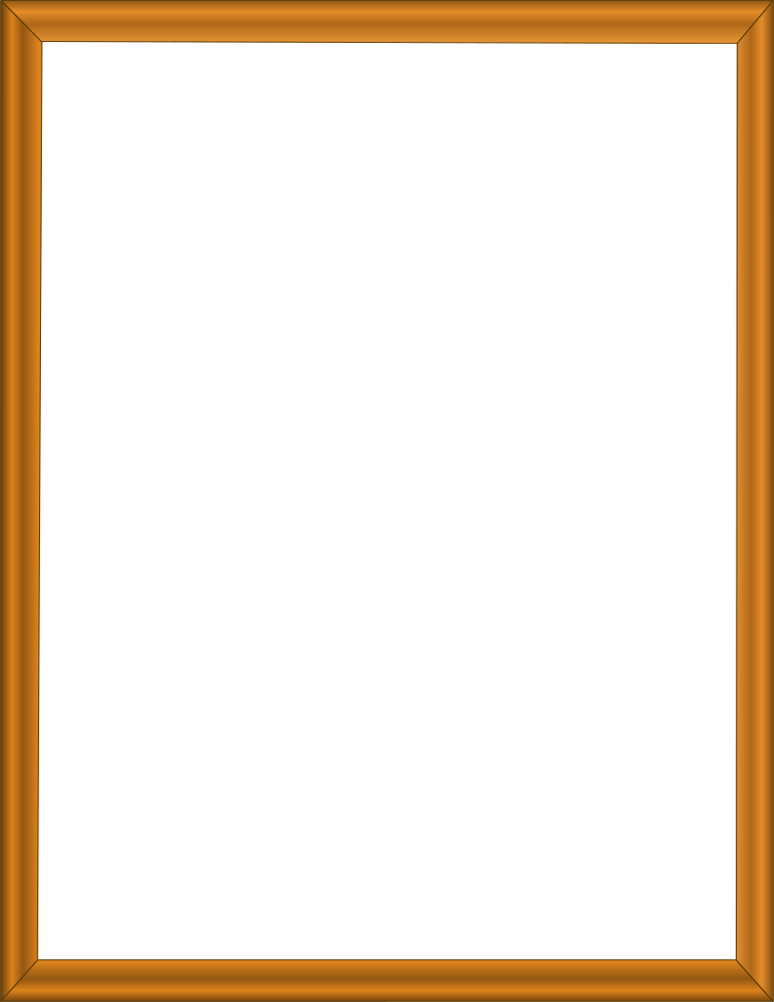 Wood frame png. Warm page frames picture