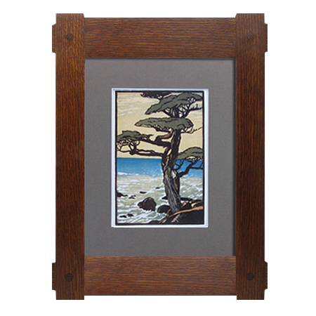 Wood picture frame png.  x craftsman through
