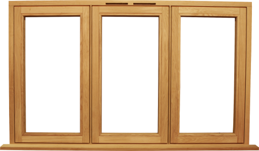 Bespoke flush casement windows. Wooden window frame png
