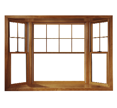 Wooden window frame png. Bay windows bow andersen