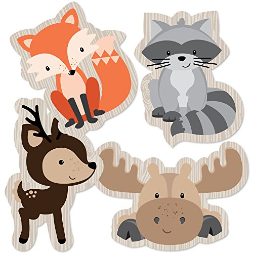 Woodland clipart animal community. Creatures shaped decorations diy