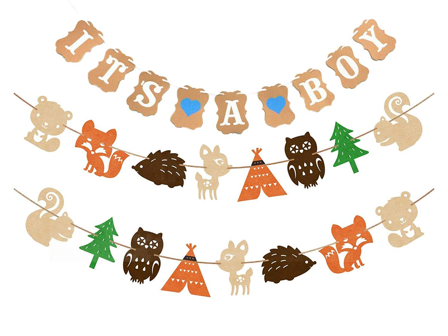 Creatures it s a. Woodland clipart banner