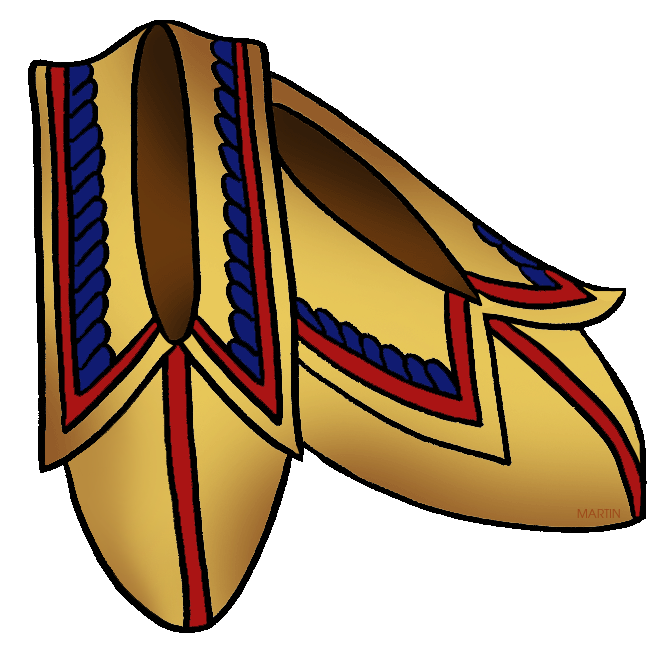 Native americans by phillip. Woodland clipart clip art