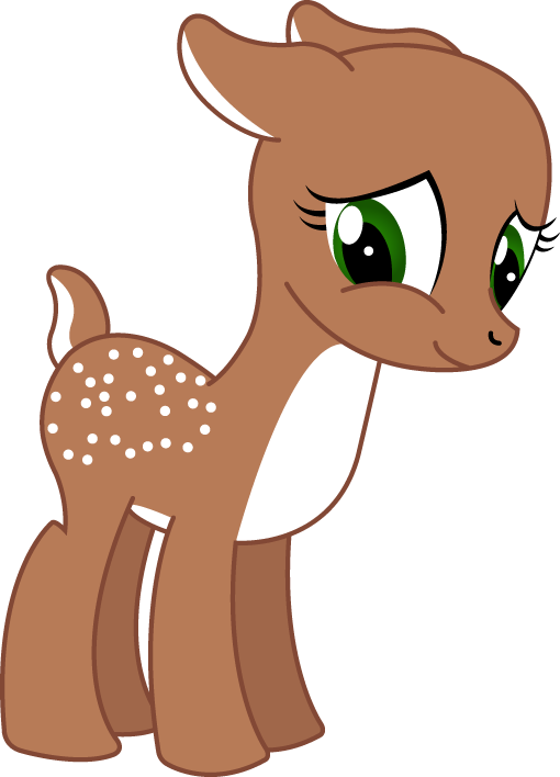 Mlp by shadowfoxgraphics on. Woodland clipart fawn