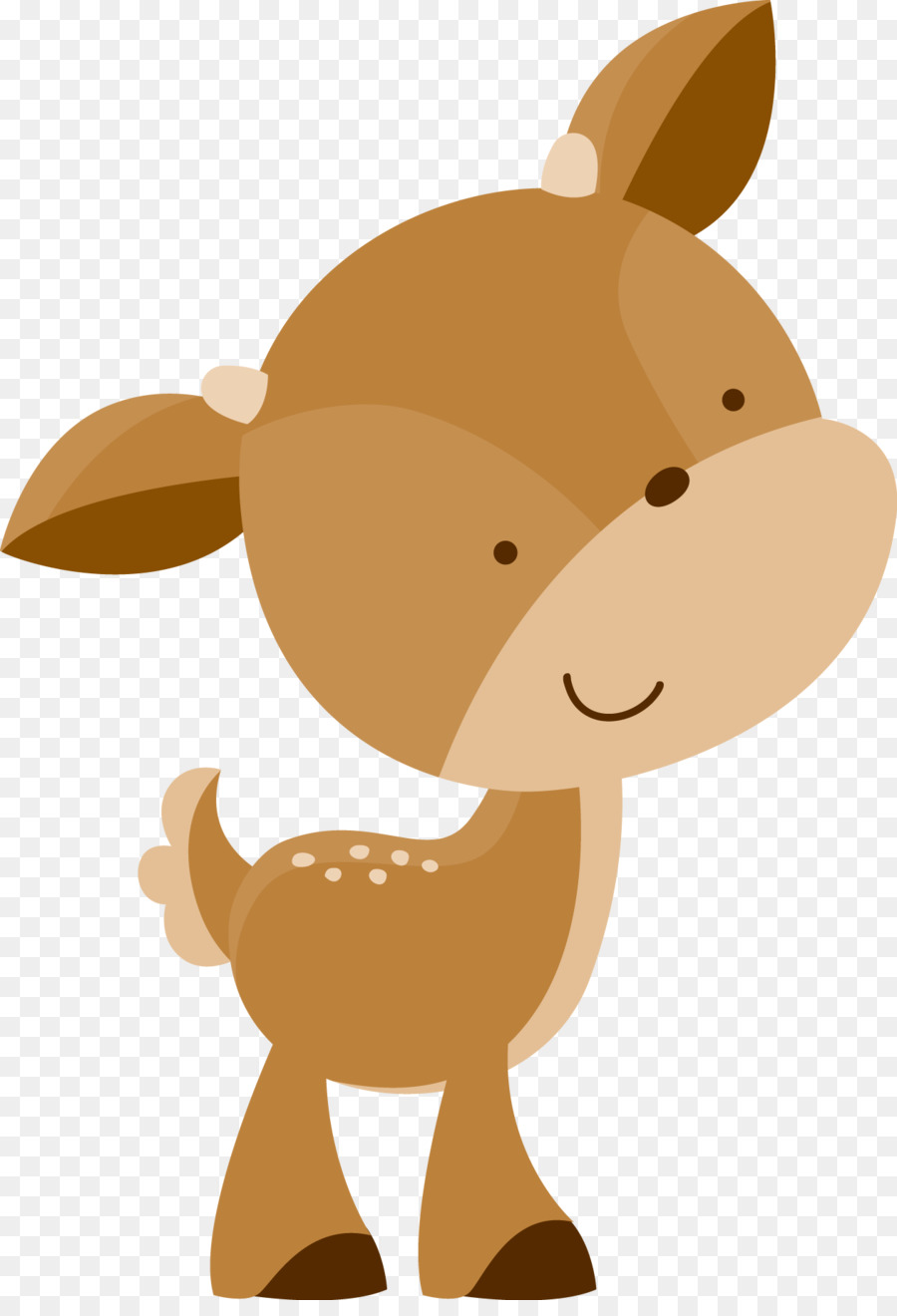 Free creatures silhouette download. Woodland clipart fawn