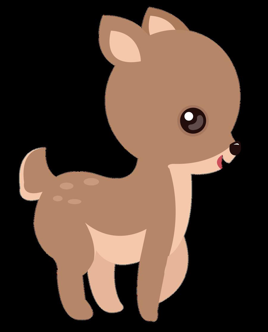 Minus say hello personagens. Woodland clipart kit fox