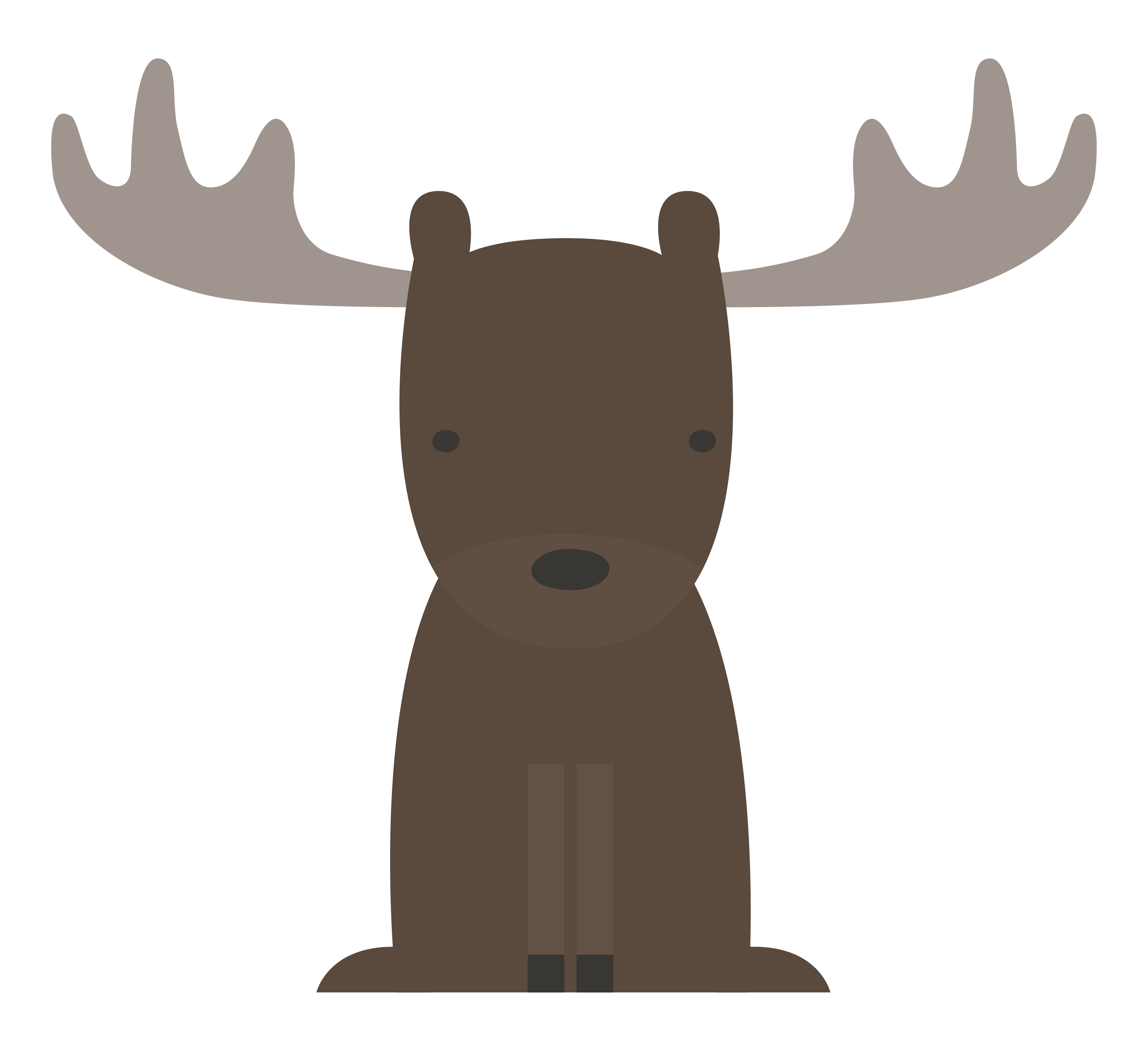 And forest animals baby. Woodland clipart moose