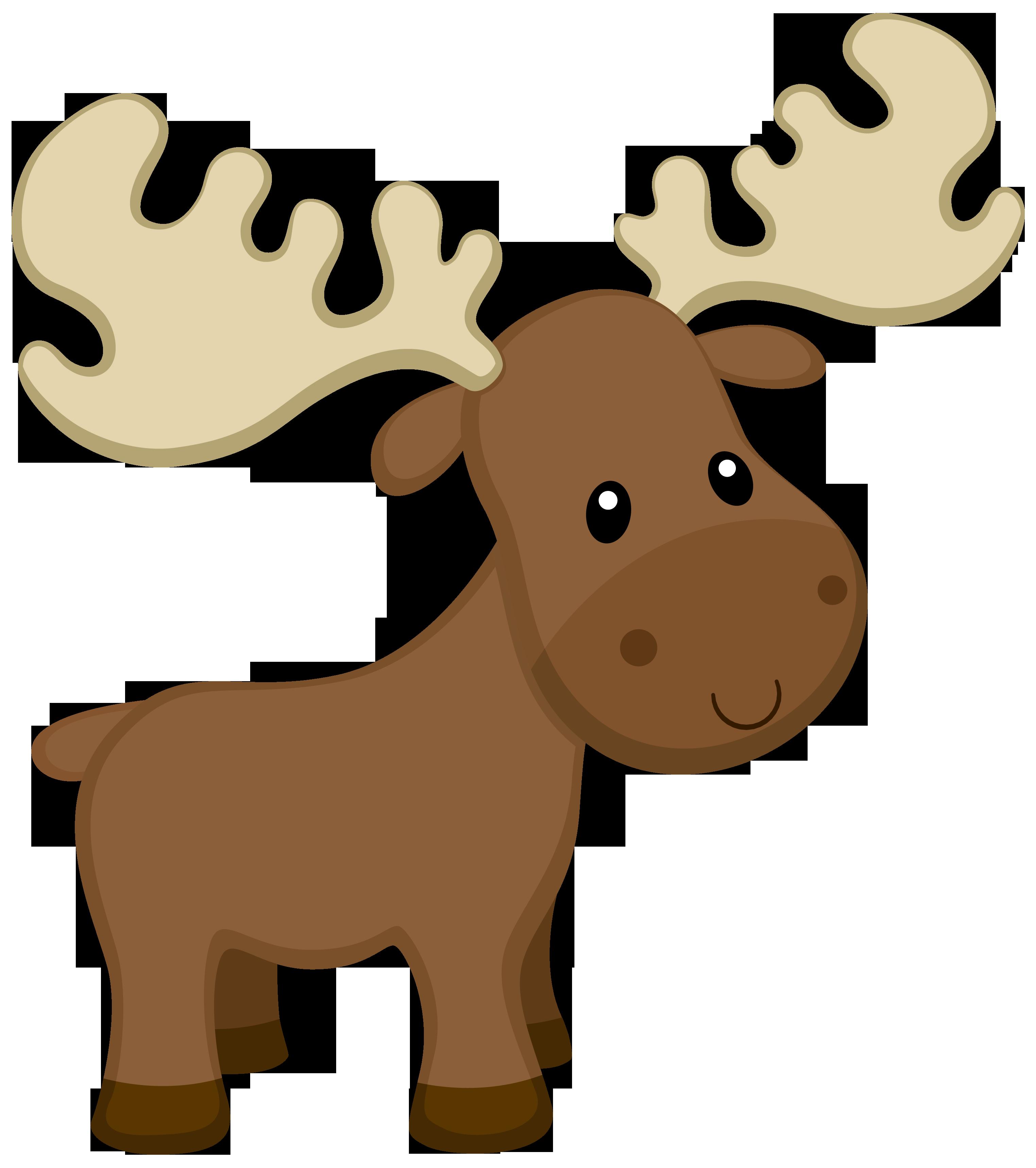 Woodland clipart moose, Woodland moose Transparent FREE ...