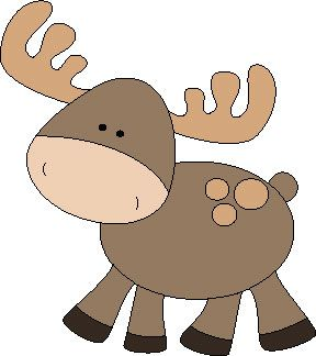 Woodland clipart moose. Free pattern sassy sewing