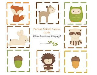 Woodland clipart preschool. Free printables animals kids