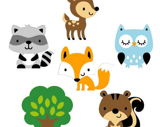 Collection of free download. Woodland clipart printable