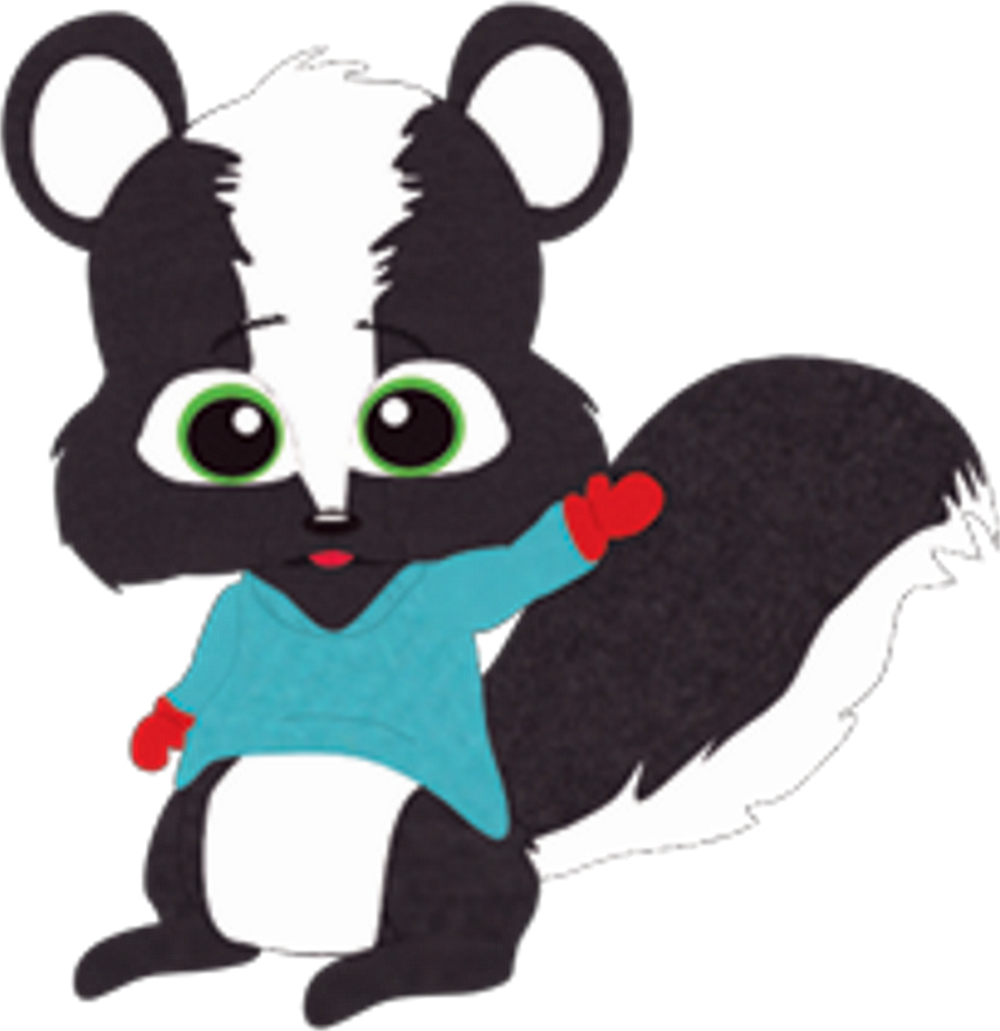 Critters south park archives. Woodland clipart skunk