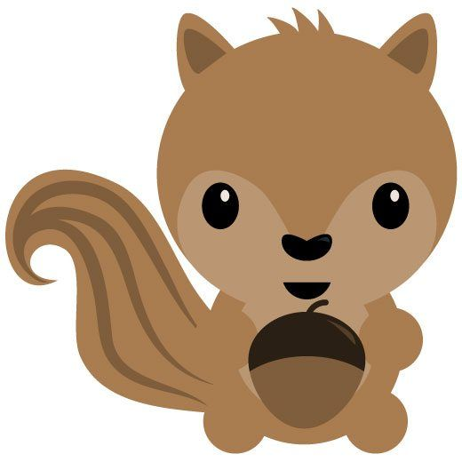 Woodland clipart squirrel. Free svg silhouette cricut