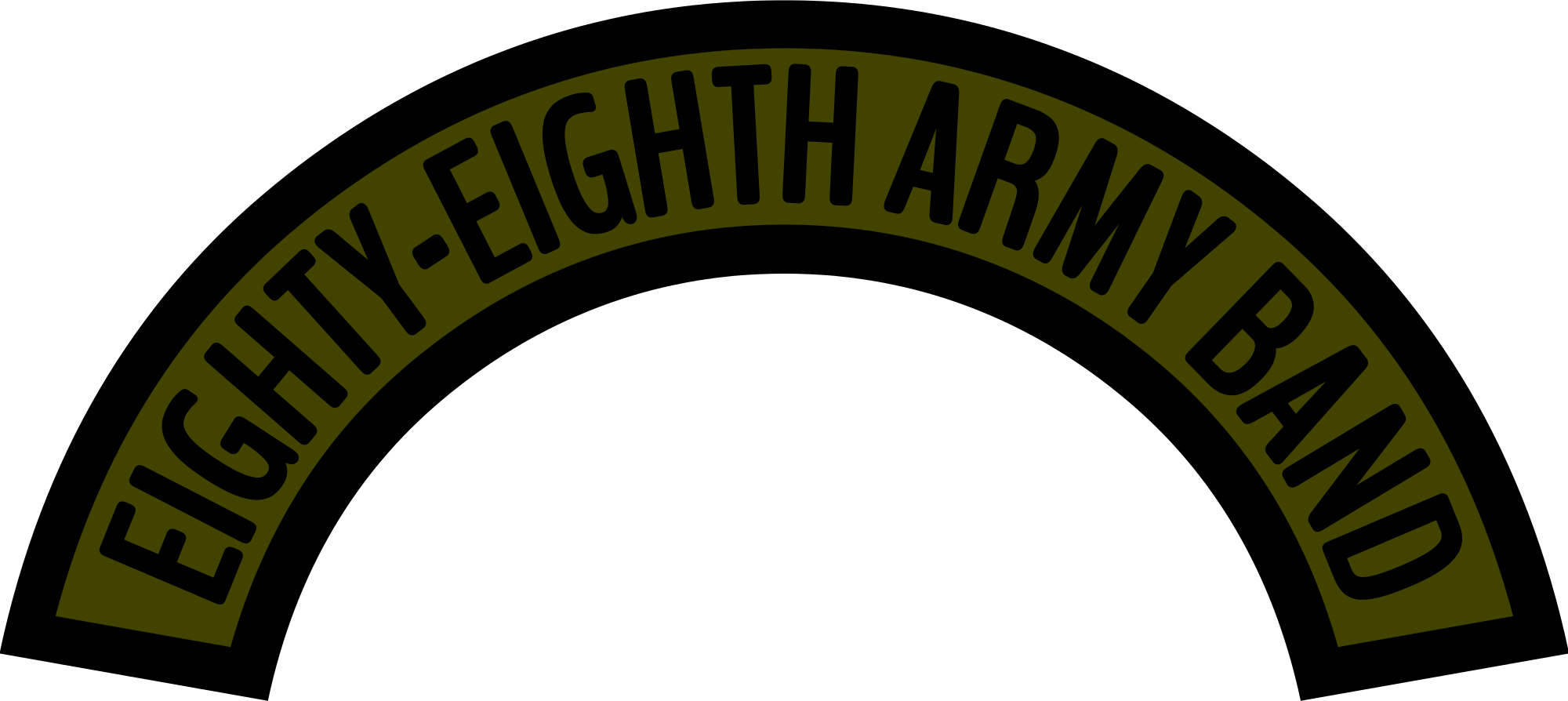 File us army eighty. Woodland clipart svg