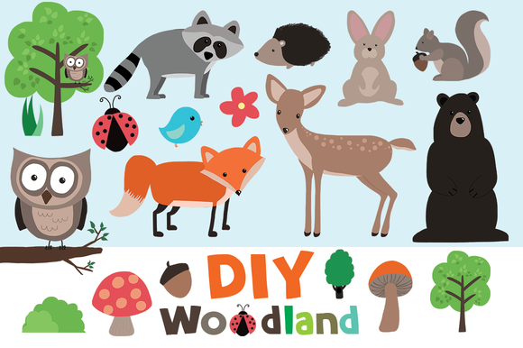 Free cliparts download clip. Woodland clipart template