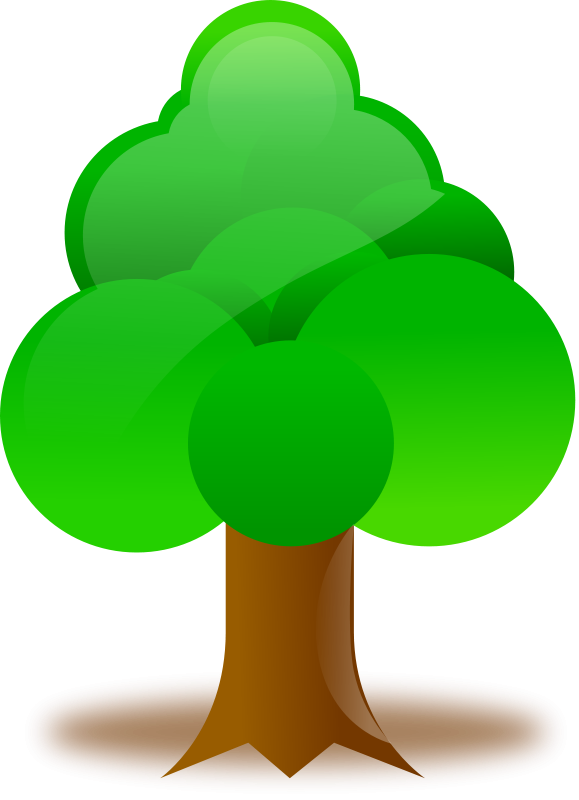 Tree free forest animals. Woodland clipart woodland leaves