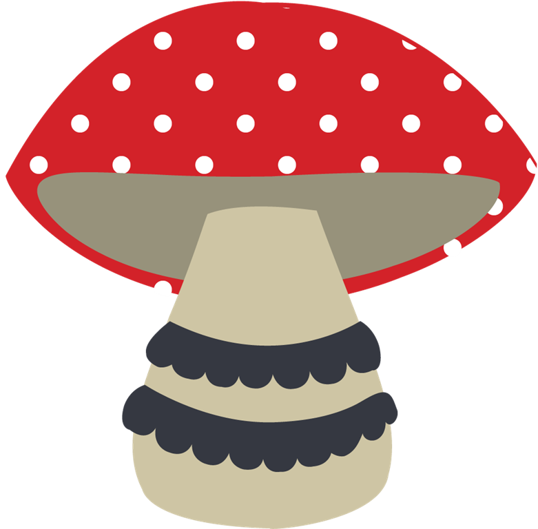 A little advent planning. Woodland clipart woodland mushroom