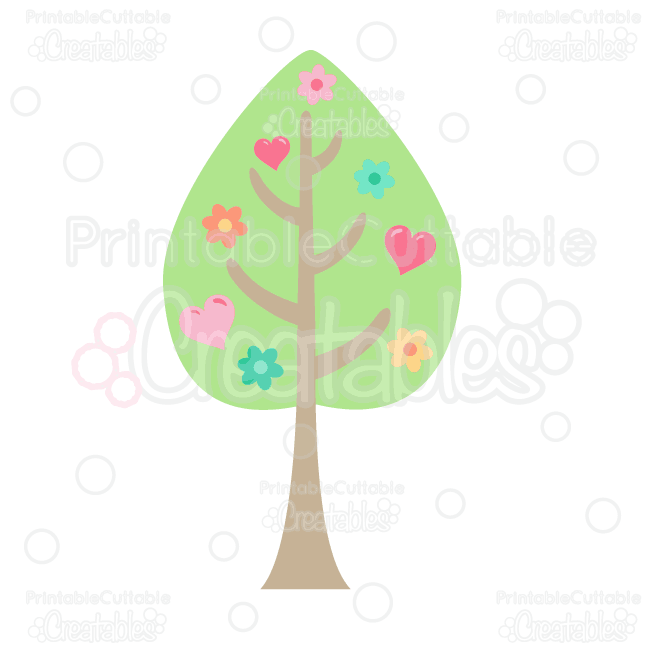 Woodland clipart woodland tree. Love free and svg