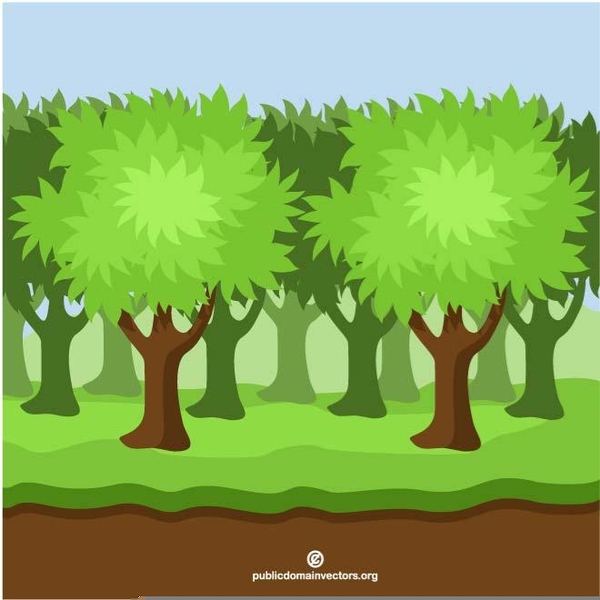 Woods clipart. Free images at clker