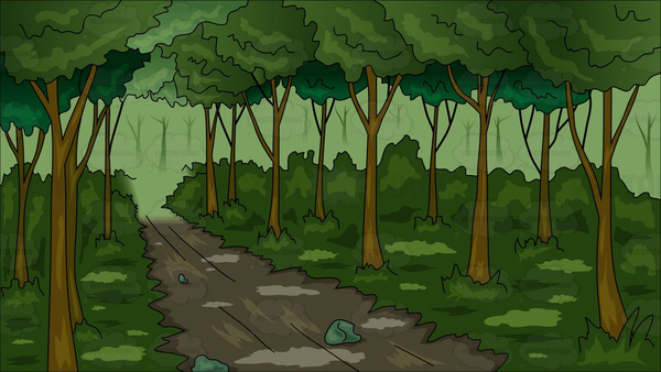 Into the free images. Woods clipart