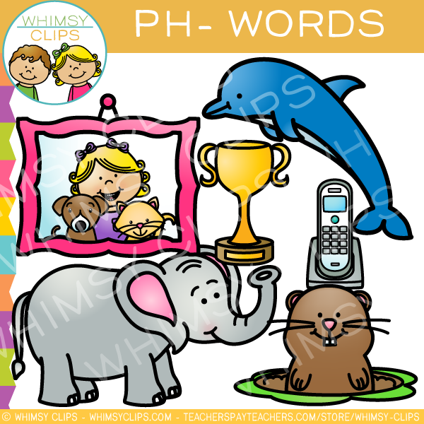 Ph clip art volume. Words clipart