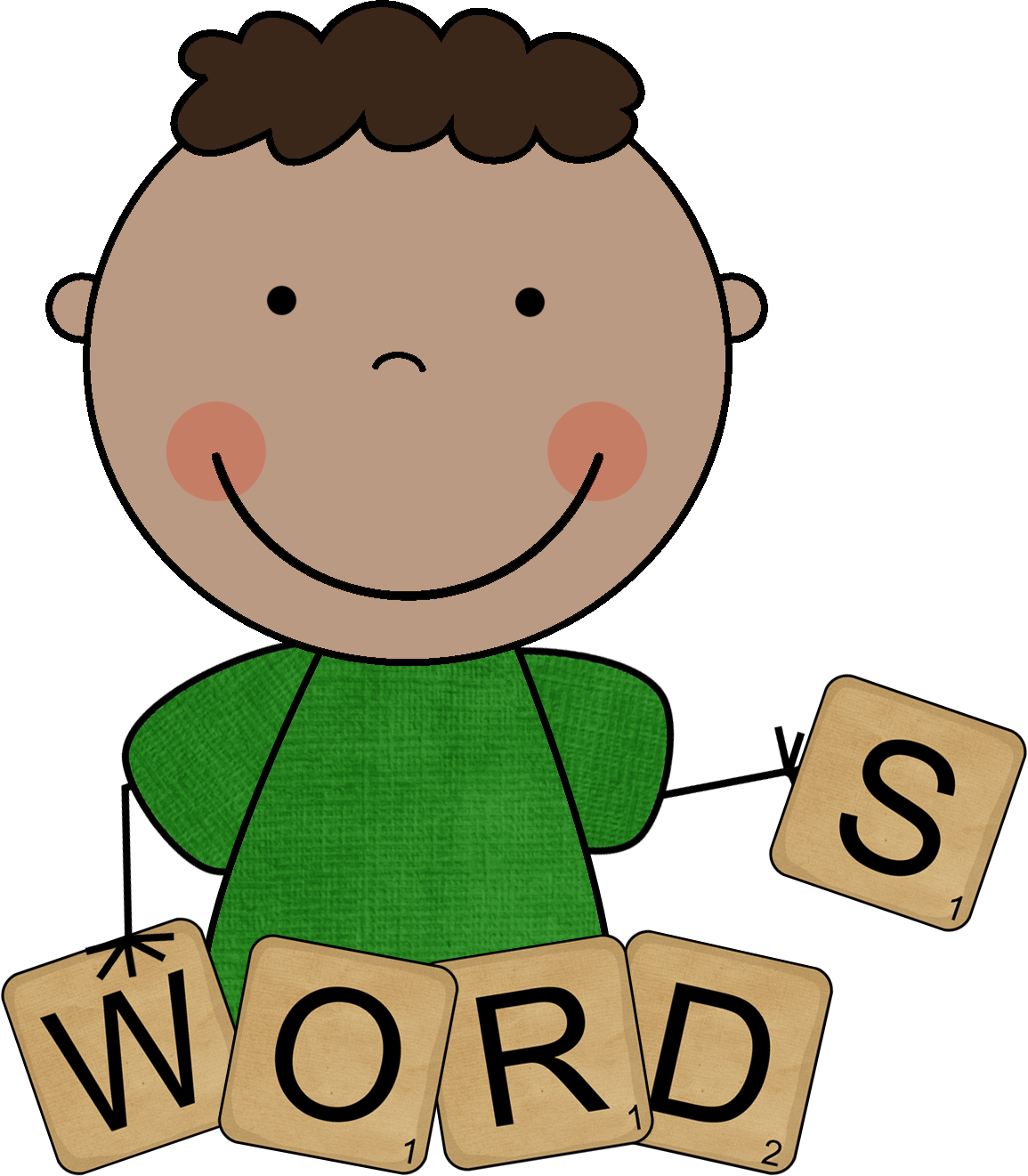 Words to know . Detective clipart vocabulary