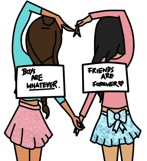 Pin by sarah on. Words clipart bff