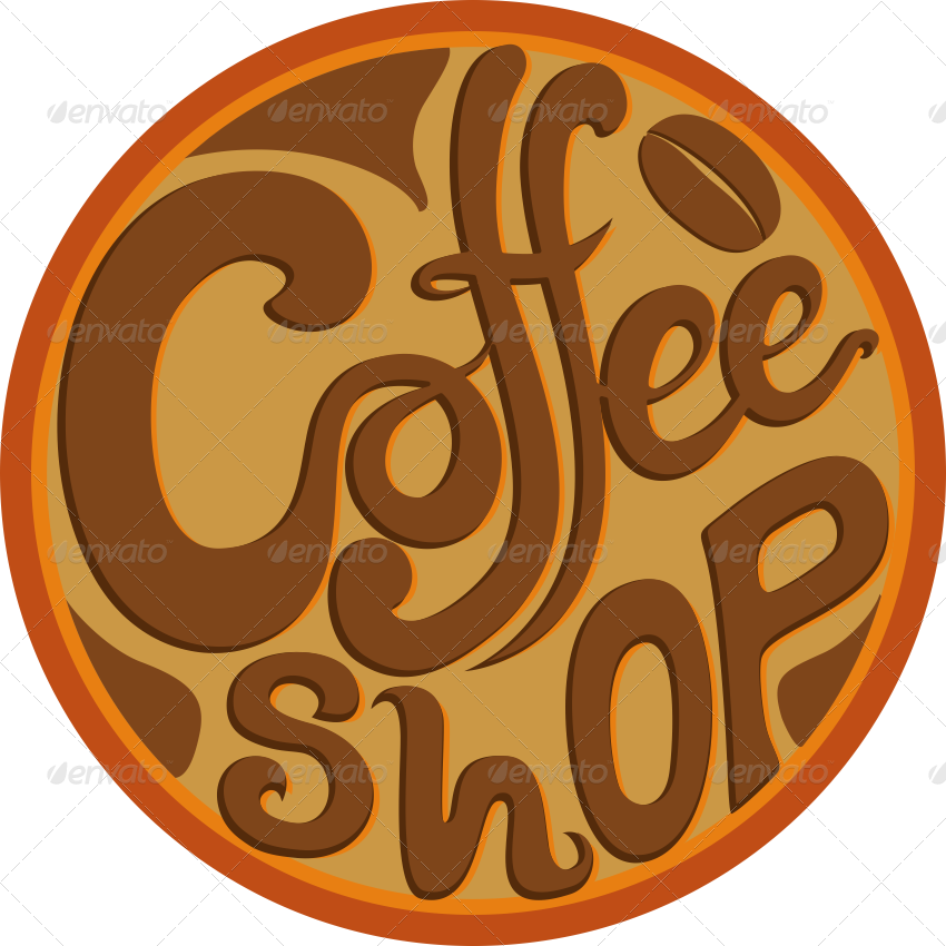 Images coffee word collection. Words clipart cafe