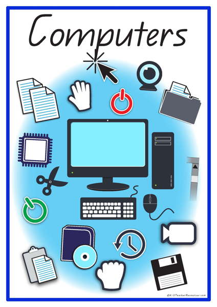 Words clipart computer.  vocabulary