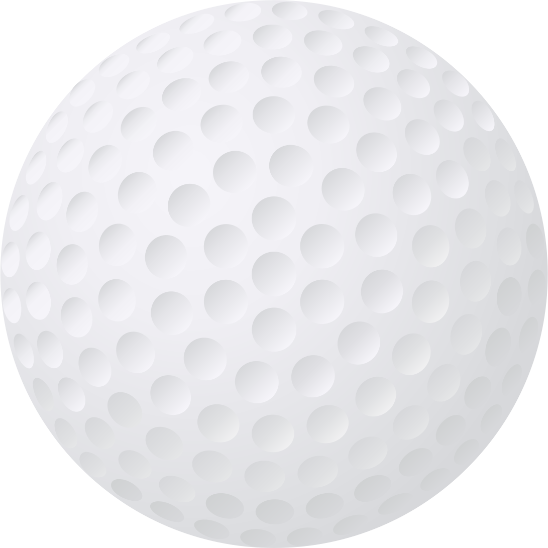 Transparent images all. Golf ball vector png