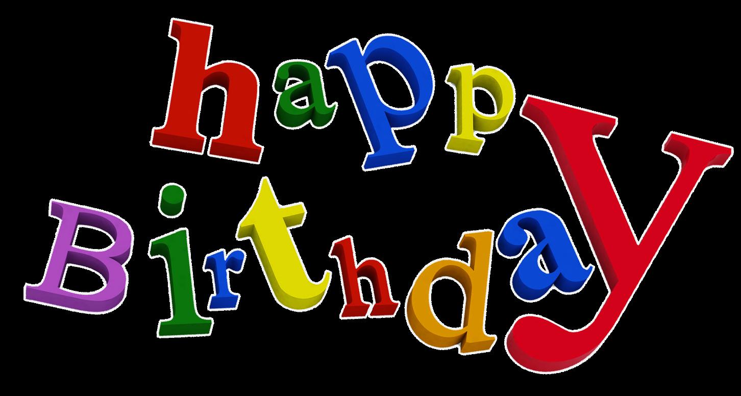 Words clipart happy birthday. Geburtstag pinterest