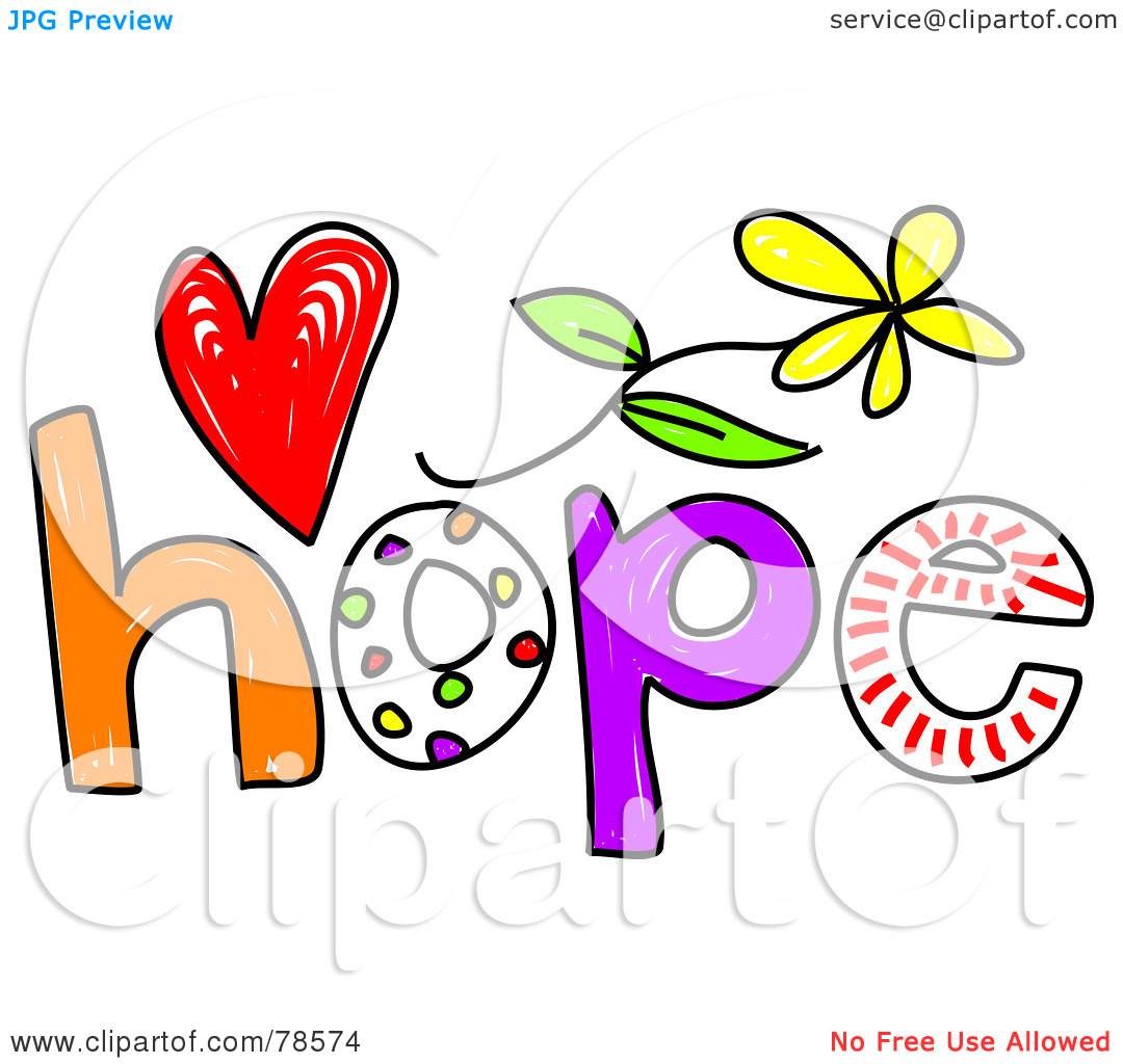Free download best on. Words clipart hope