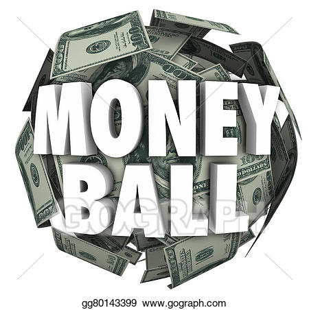 Words clipart money. Drawing ball d sports