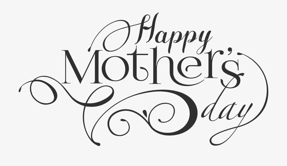 Mother s free drawing. Words clipart mothers day