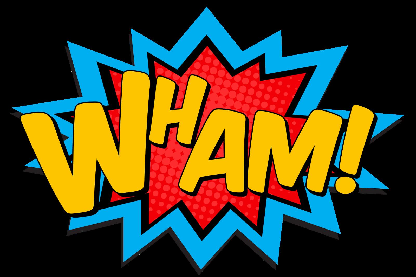 Words clipart pop. Ideas for superhero art