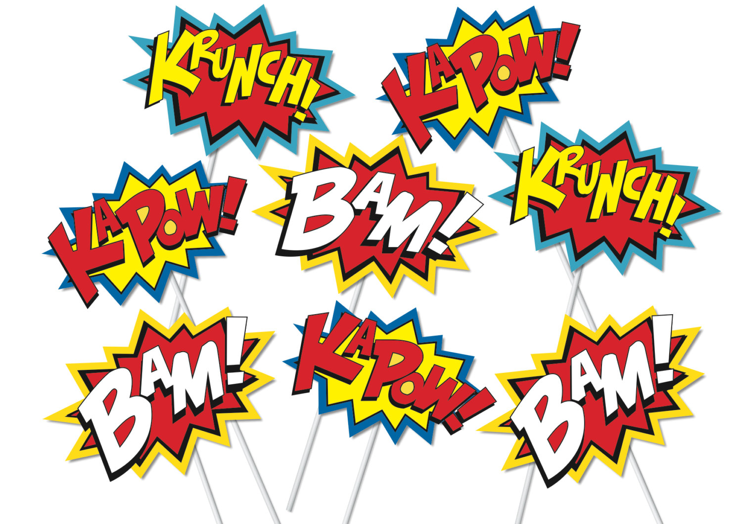 Free super word cliparts. Words clipart pop