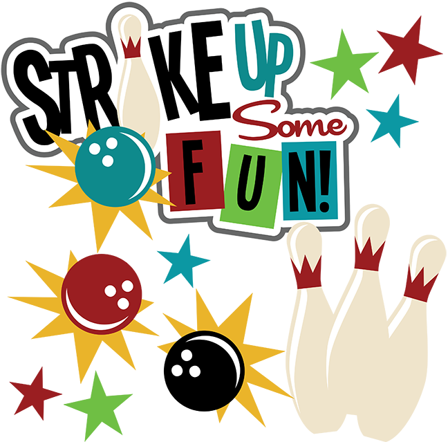 Strike up some fun. Words clipart scrapbook