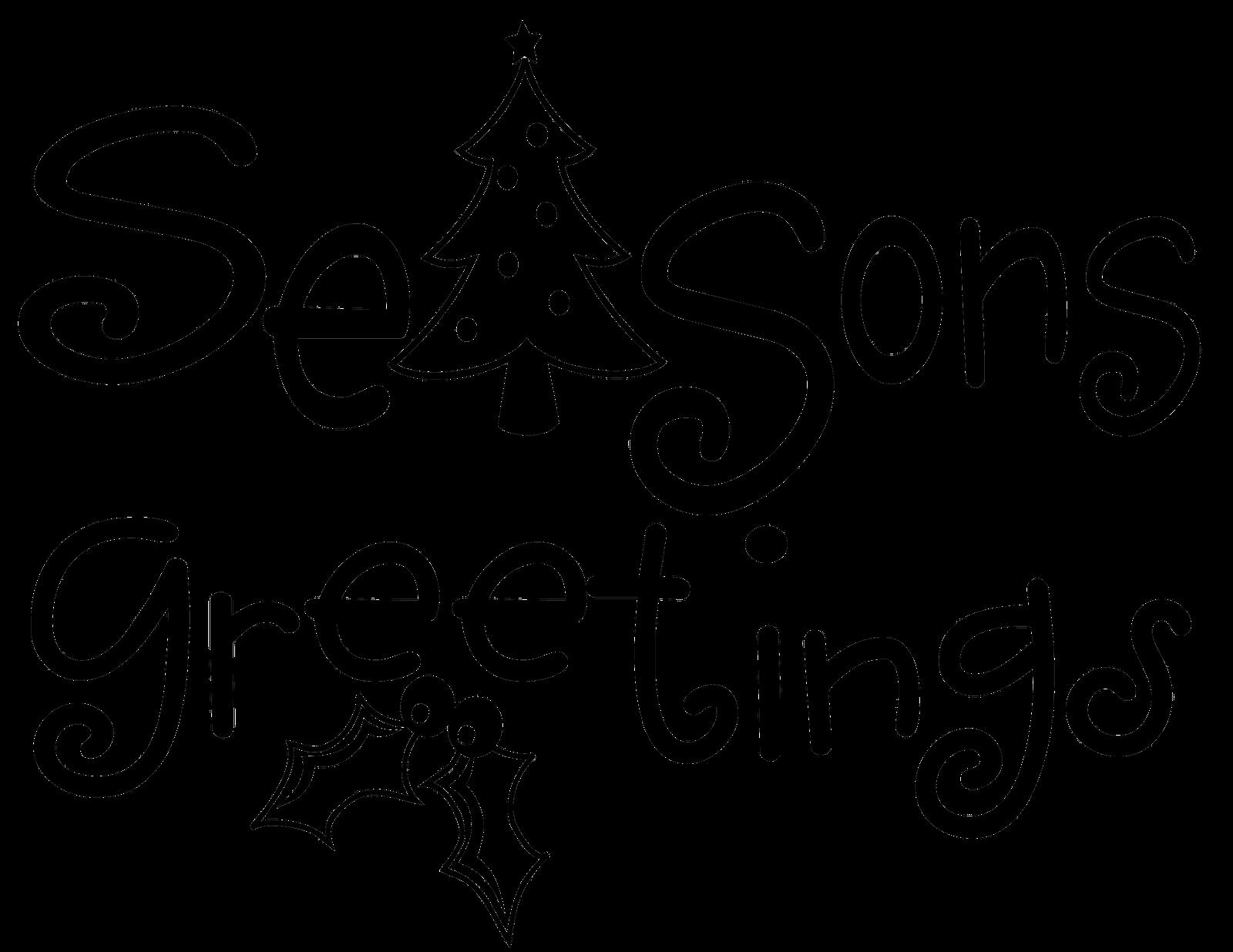 Words clipart seasons. Mudmaven designs monday freebie