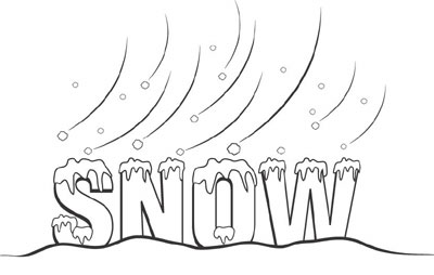 Words clipart snow. Free day cliparts download
