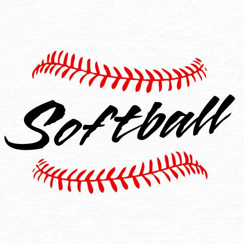Base word cliparts zone. Words clipart softball