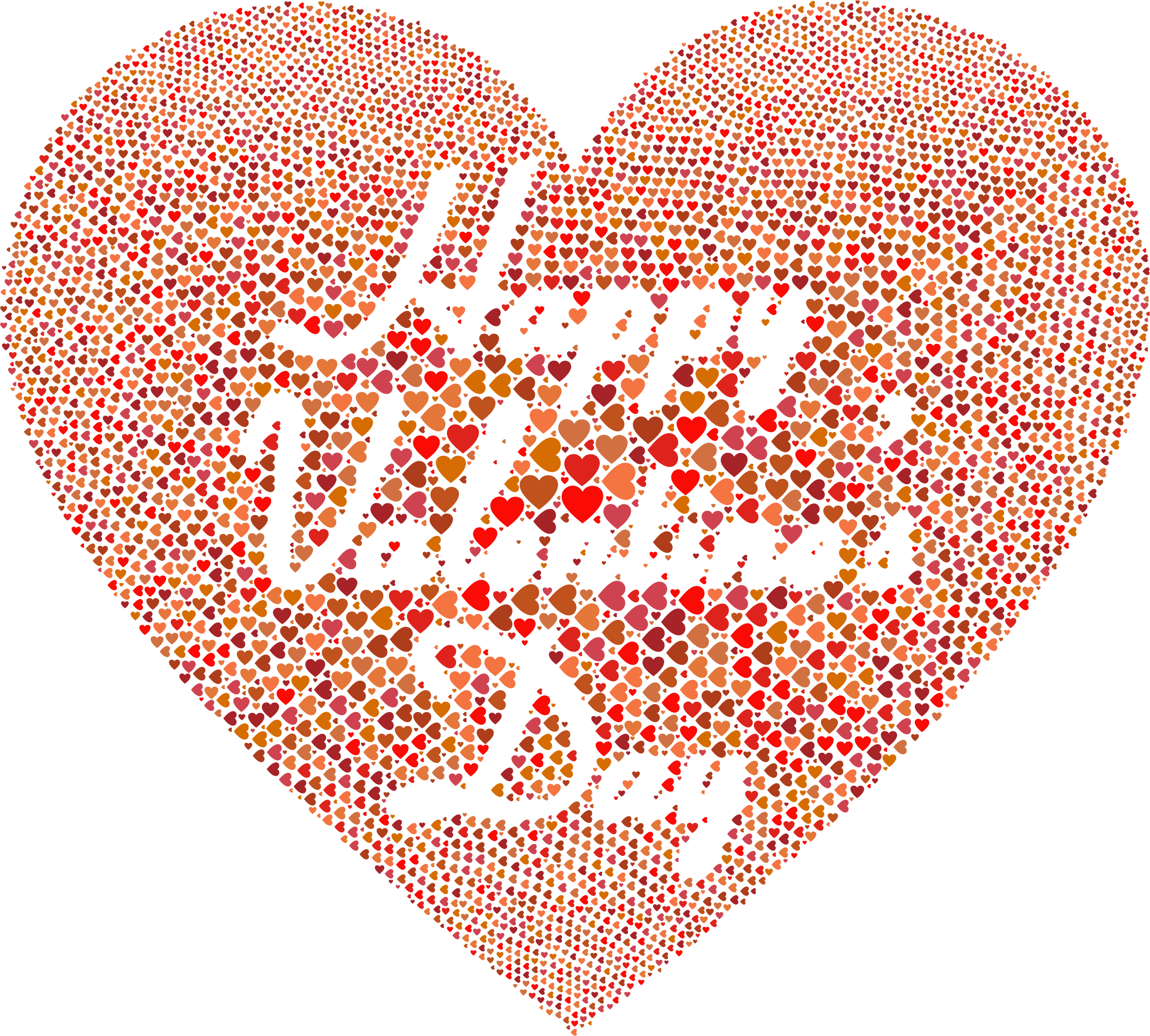 Words clipart valentines. Happy day no background