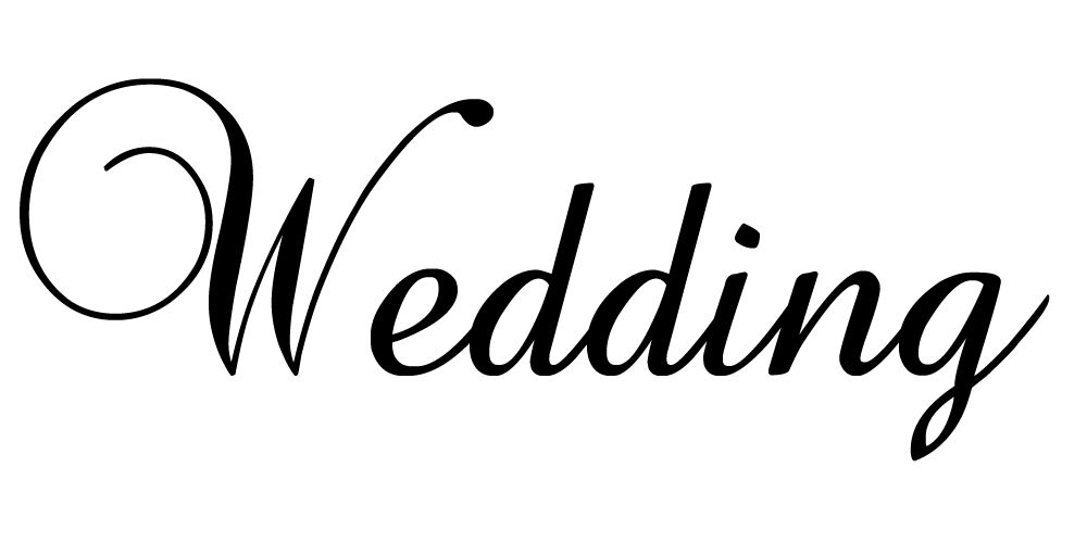 beautiful free fonts. Words clipart wedding