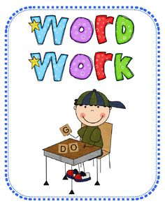 On clip art library. Words clipart work station