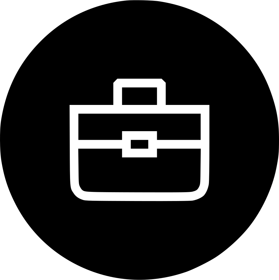 Work icon png. Briefcase bag portfolio suitcase